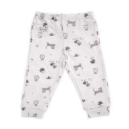 原野冒險嬰兒長褲(羊毛保暖布)