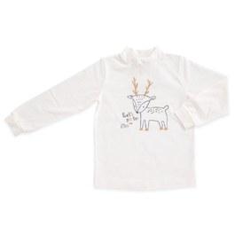 森林樂園高領衫(羊毛保暖布)