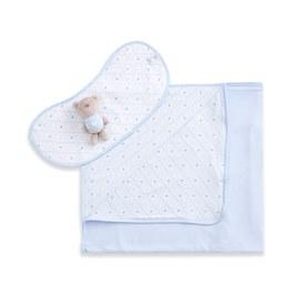 新經典小蓋毯-附拍嗝巾