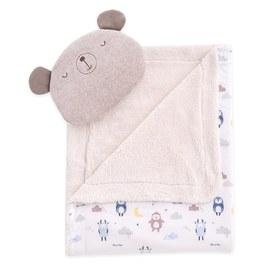 甜蜜夢境萬用毯組-附枕頭