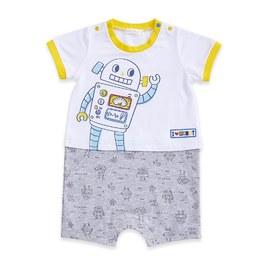 機器人短袖兔裝