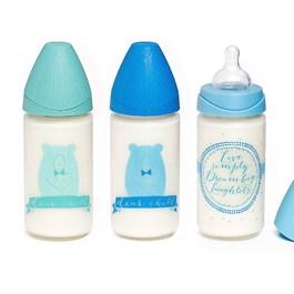 寬口玻璃奶瓶240ML