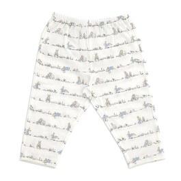可愛兔嬰兒長褲(護膚天絲洞洞提花布)