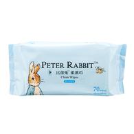 比得兔柔濕巾-70抽